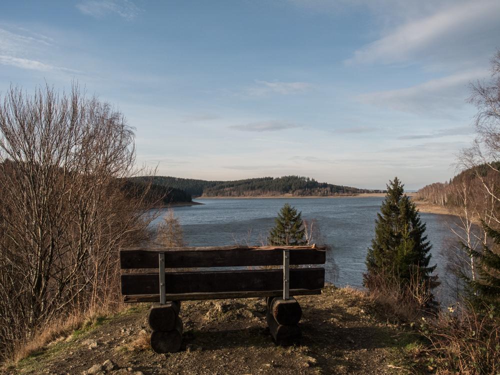 Berge, Wasser und Naturschutz: der Granestausee im Harz