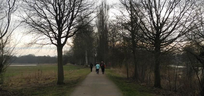 Wandertraining beim größten Lauf Norddeutschlands