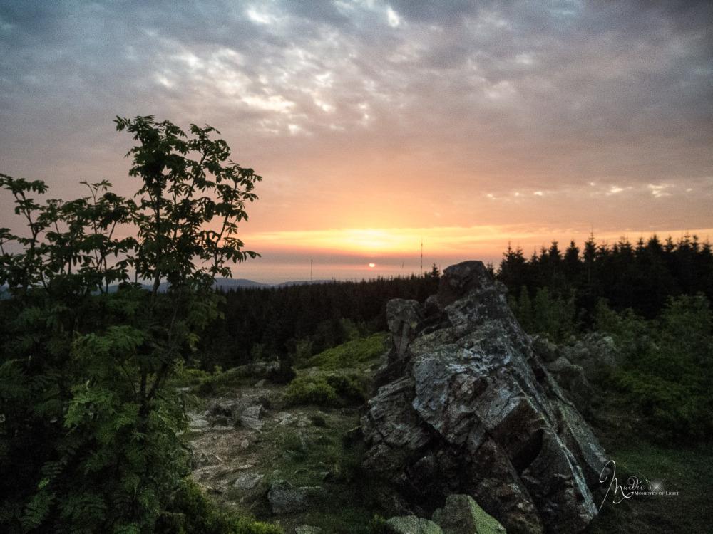 Geheimtipp für Fotografen und Genusswanderer: Zum Sonnenaufgang auf die Wolfswarte