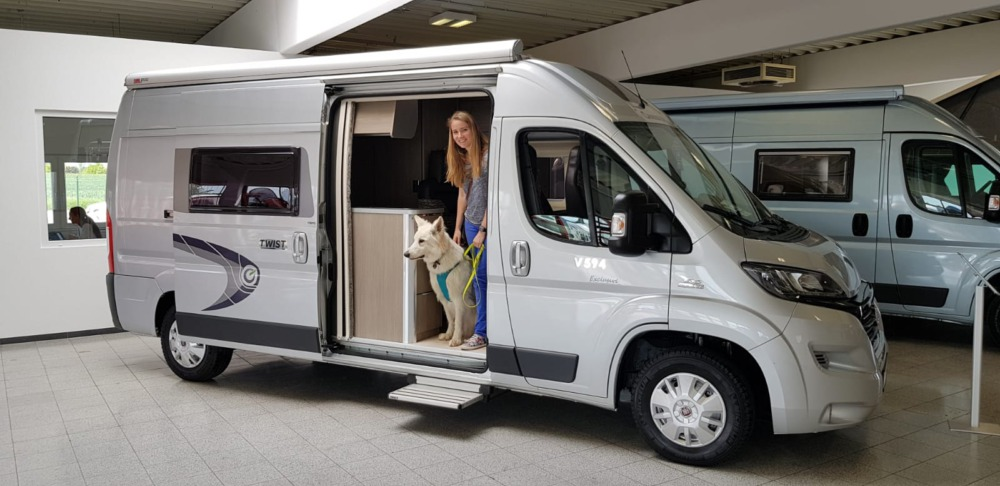 Plötzlich Camper – Vanlife mit Hund und Herz