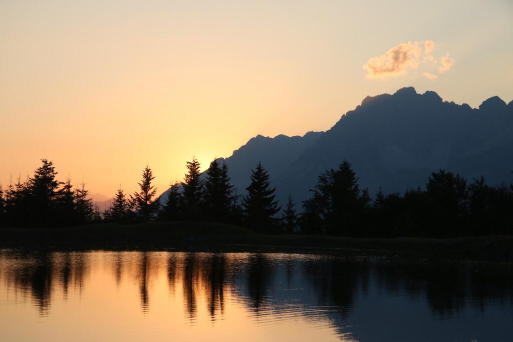 Schlosserbergsee St. Johann in Tirol