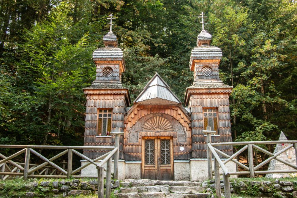 Russische Kapelle in Slowenien