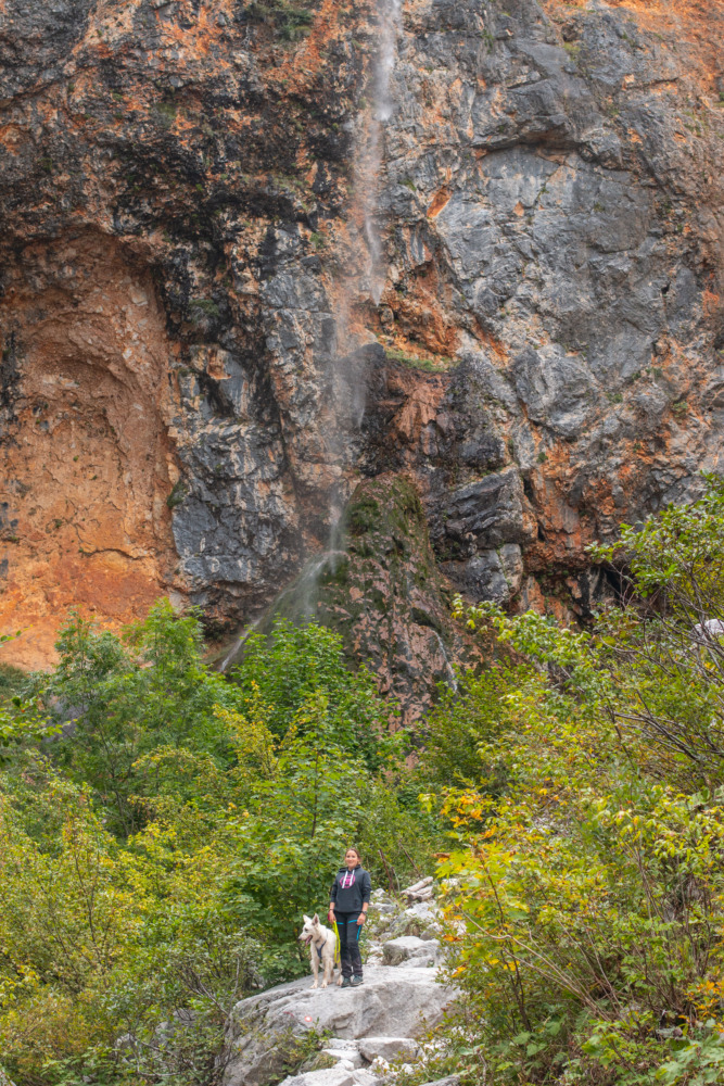 Slap Rinka - Wasserfall im Logar-Tal