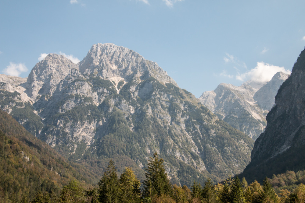 Berge im Triglav-Nationalpark