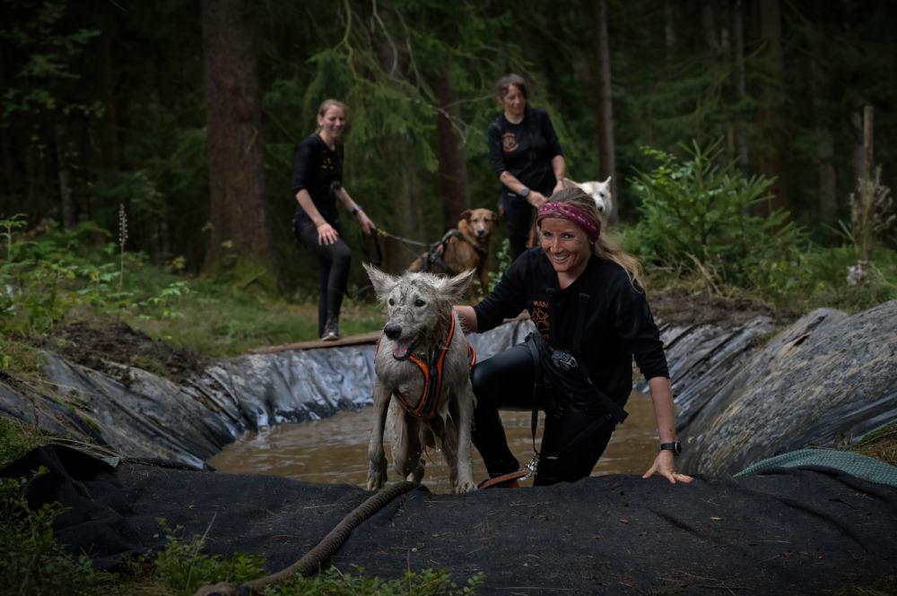 Matschgrube beim Tough Hunter (Foto: Racepaw Pictures)